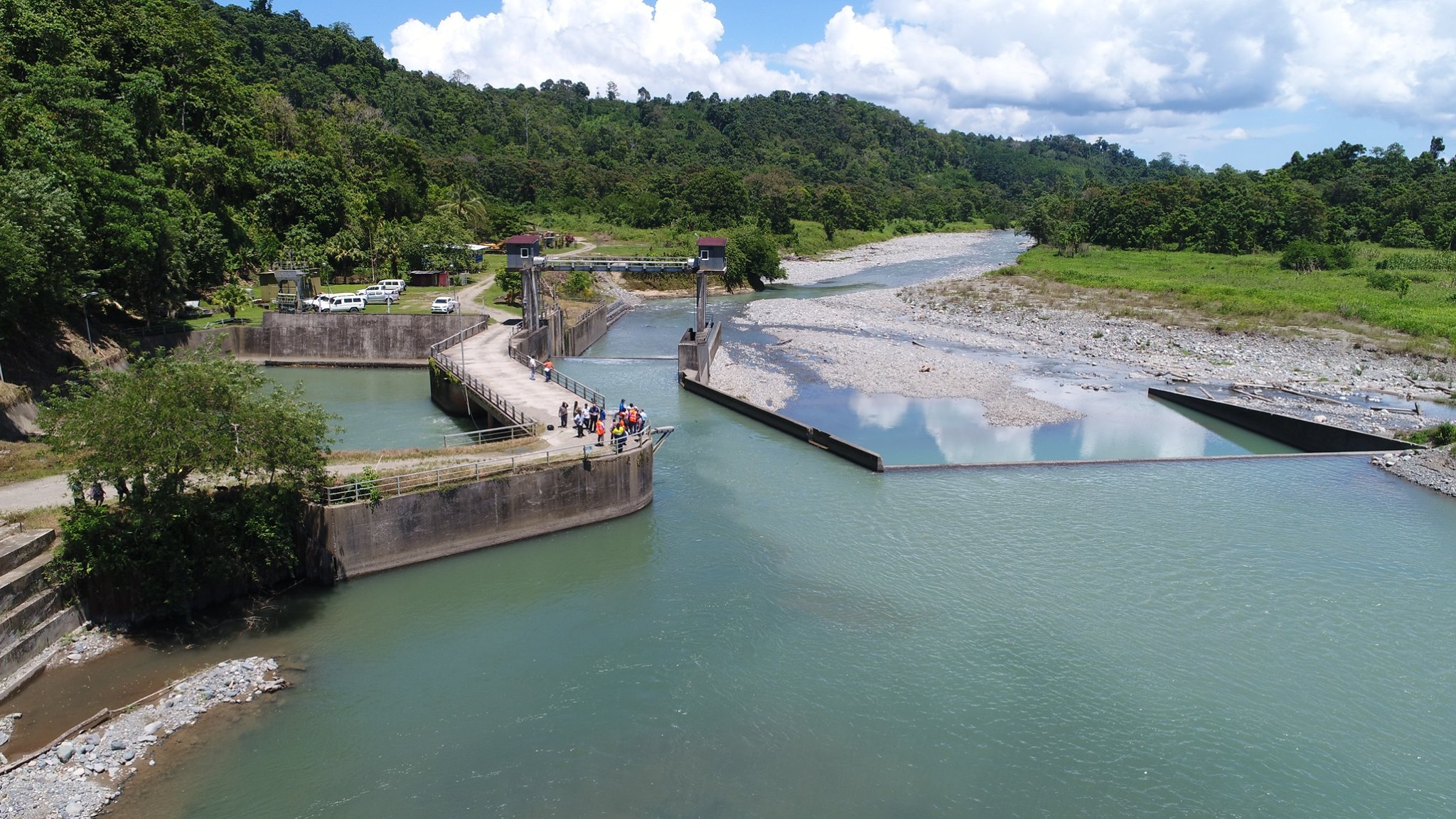 Rehabilitation work commences on the Warangoi Hydropower Station