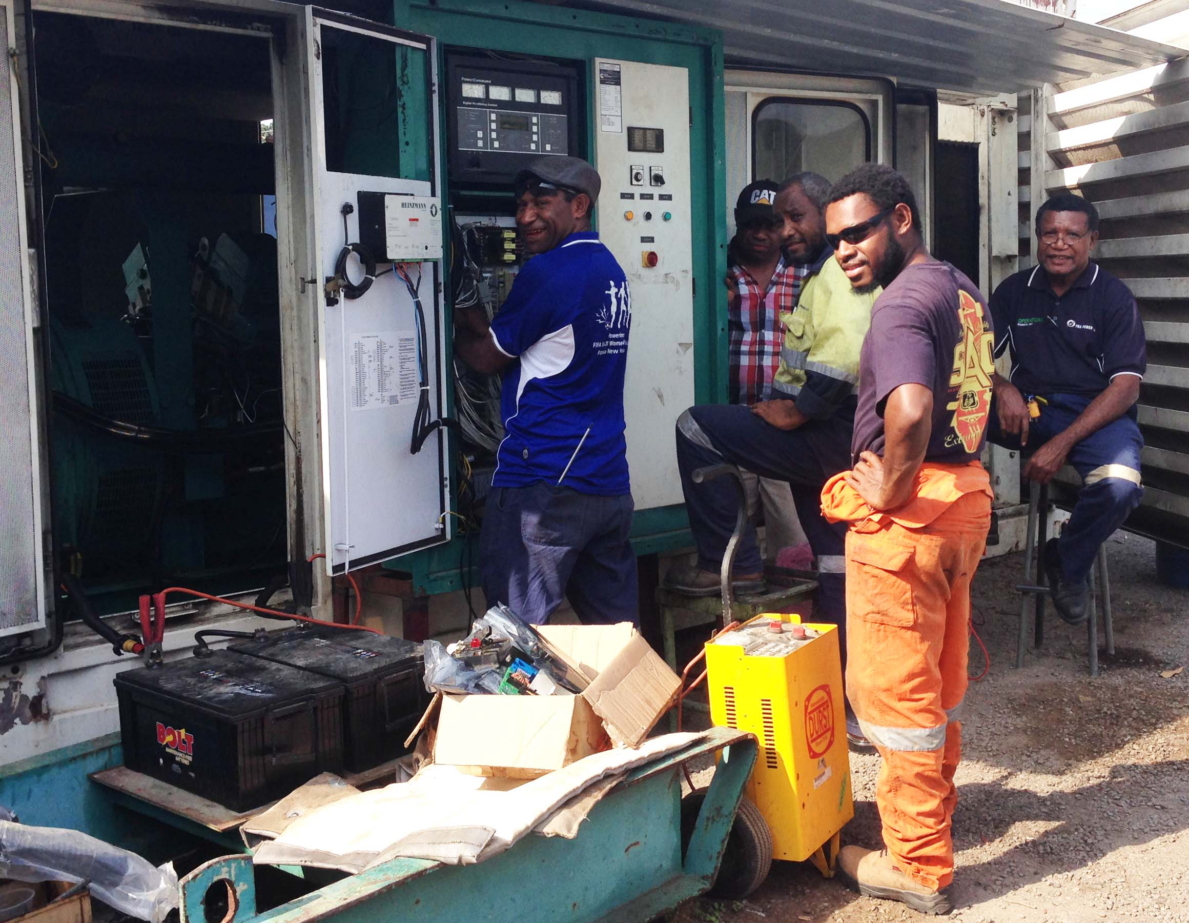 Buka operations to utilise a 'Mobile' generator