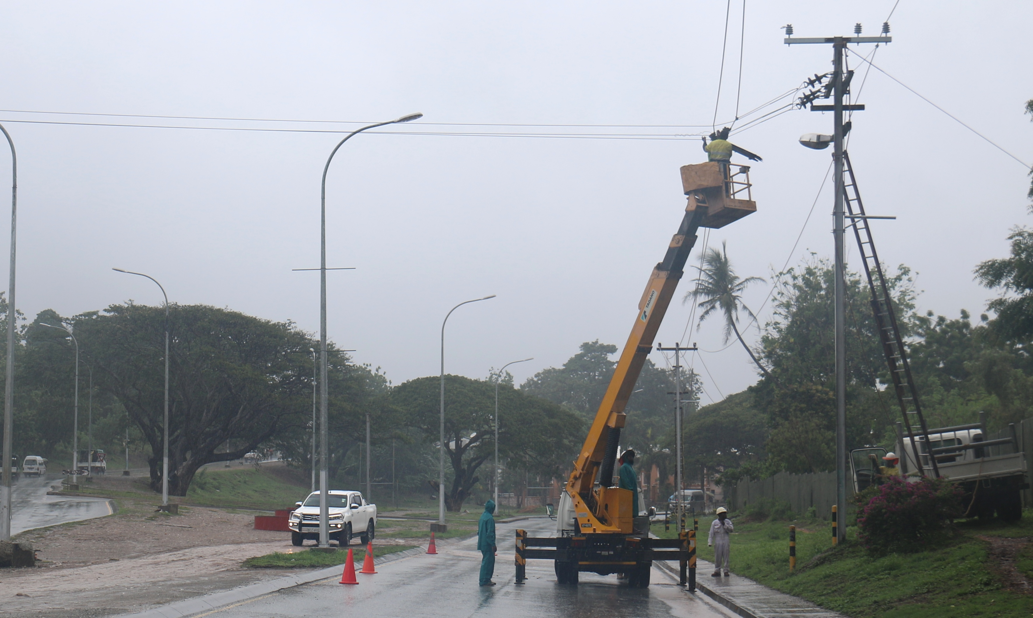 Disruptions to Port Moresby Power Supply caused by Transmission Line faults