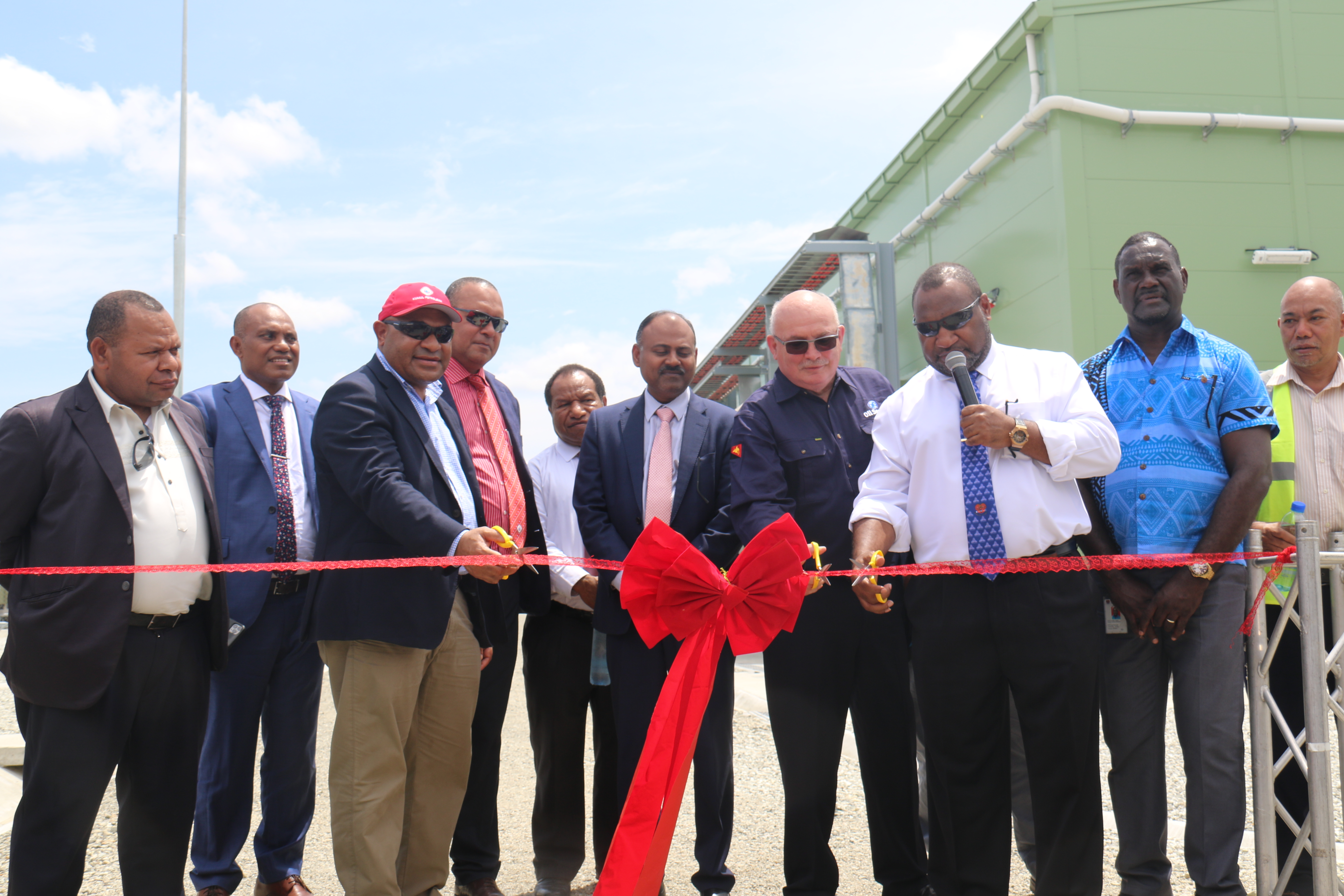 NiuPower Gas Plant power supply officially launched