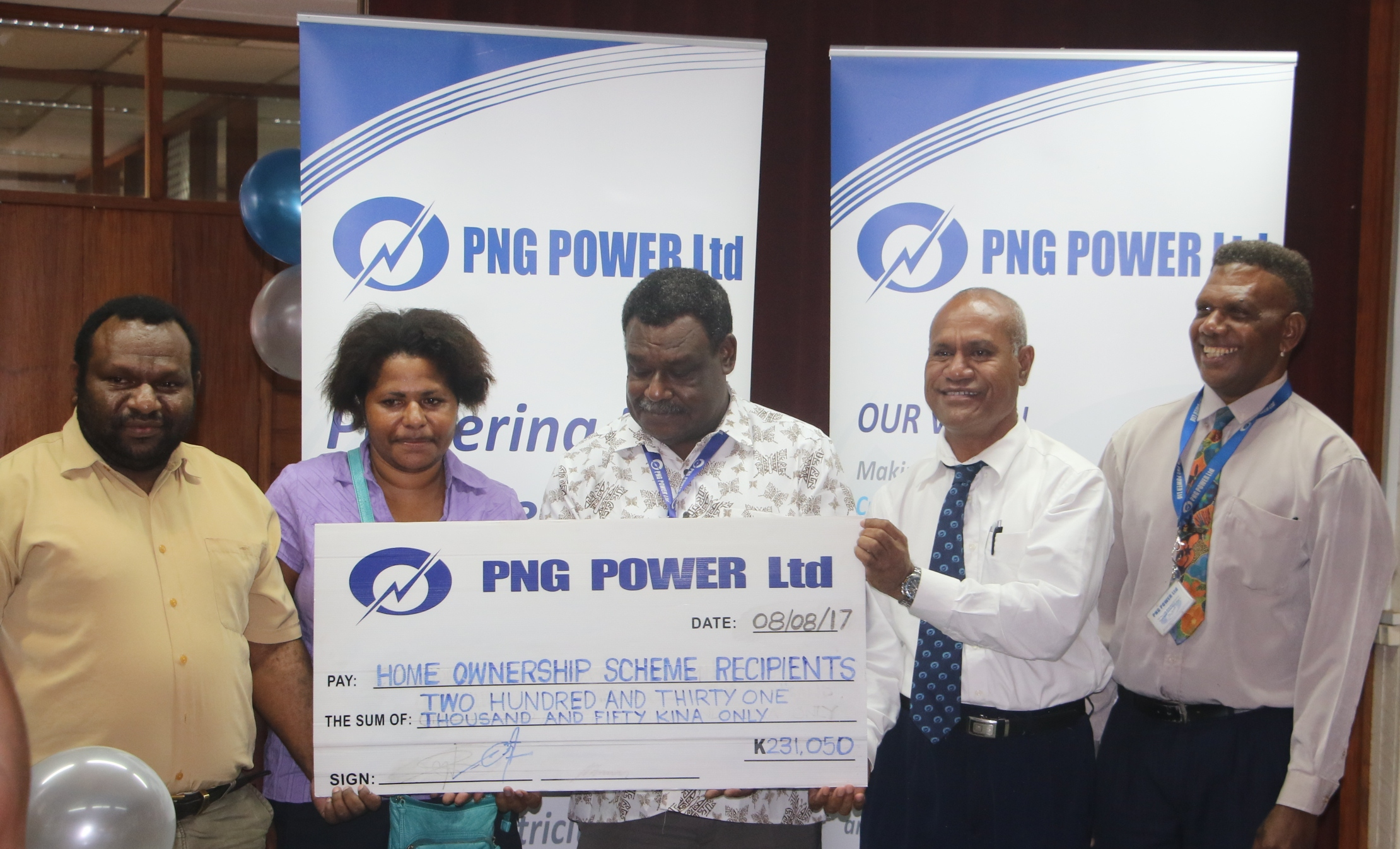 PNG Power Ltd Home Ownership Scheme launched