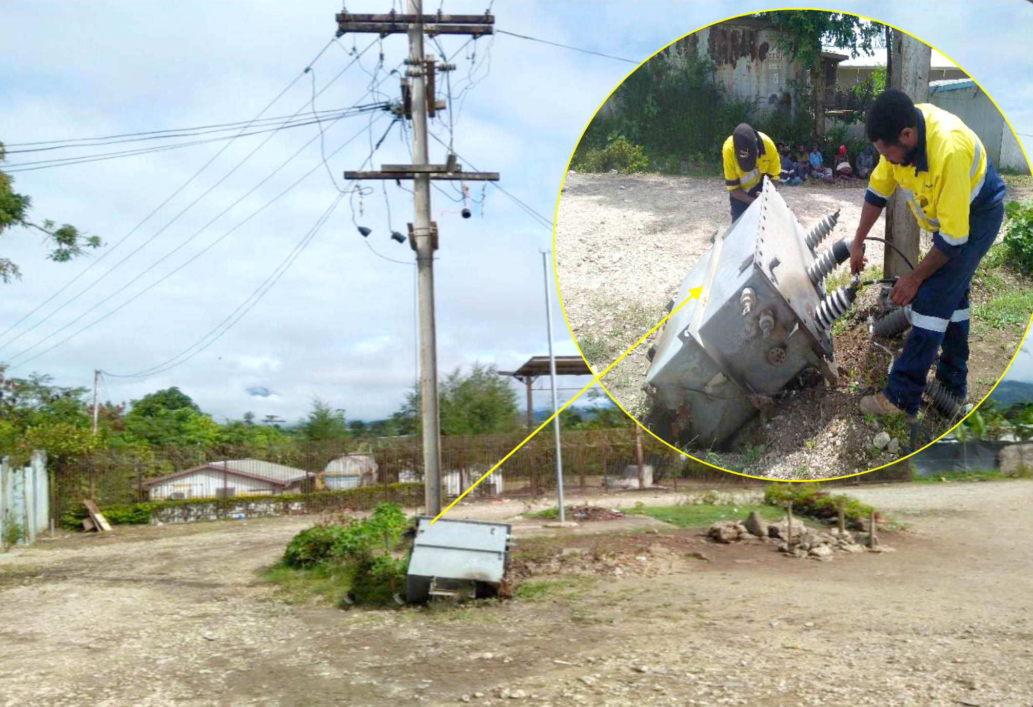 Power supply restoration work in Mendi, Tari and Ialibu continues
