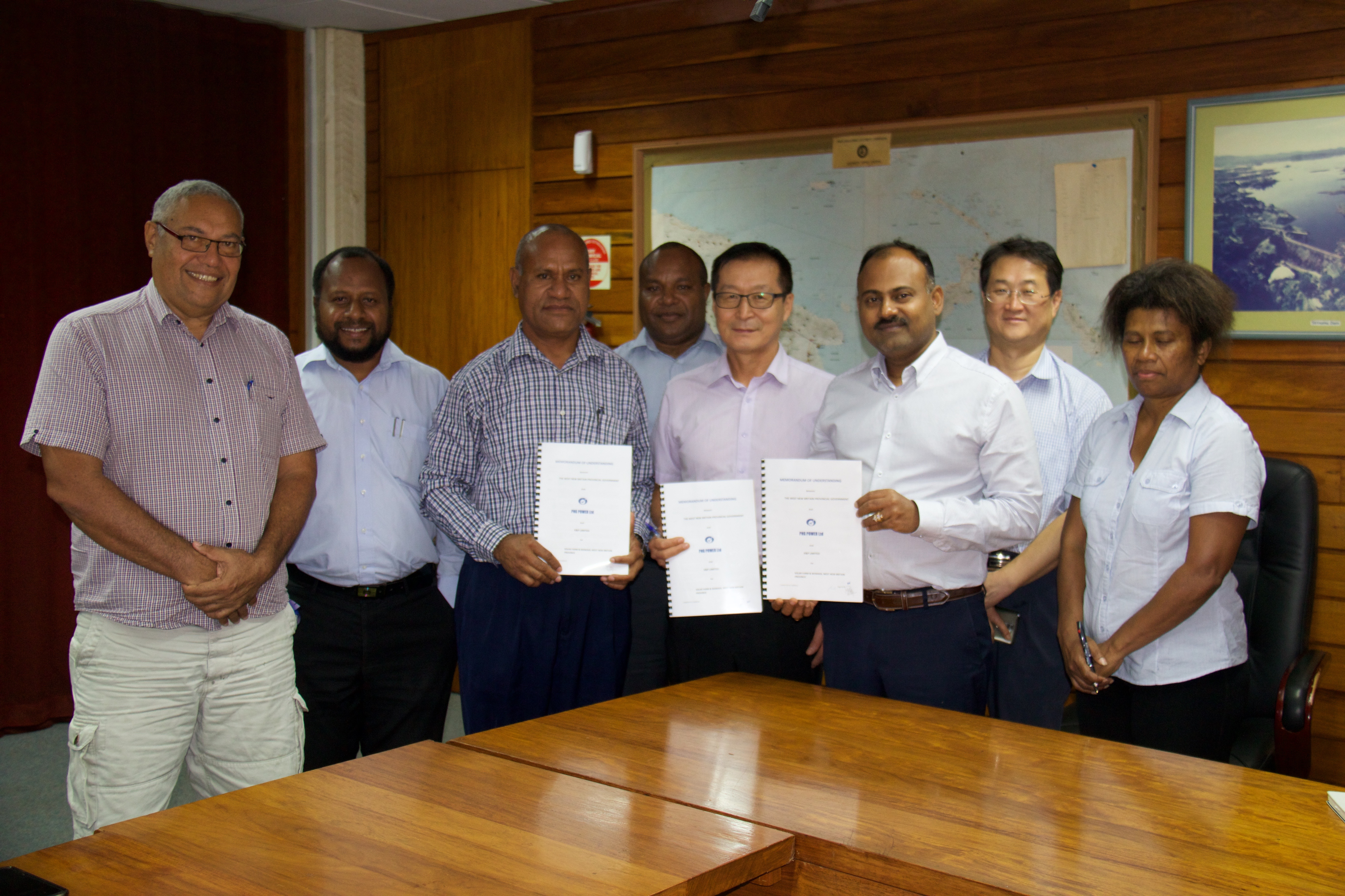 PPL SIGNS MOU FOR SOLAR FARM AND BIOMASS PLANT WITH WNB PROVINCIAL GOVERNMENT AND KOREAN FIRM