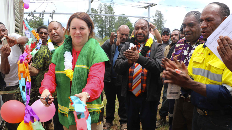 PNG Power installs generators for Wabag